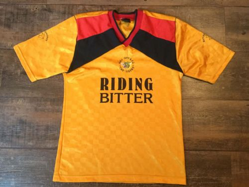 1988 1989 Hull City Home Football Shirt Adults Small